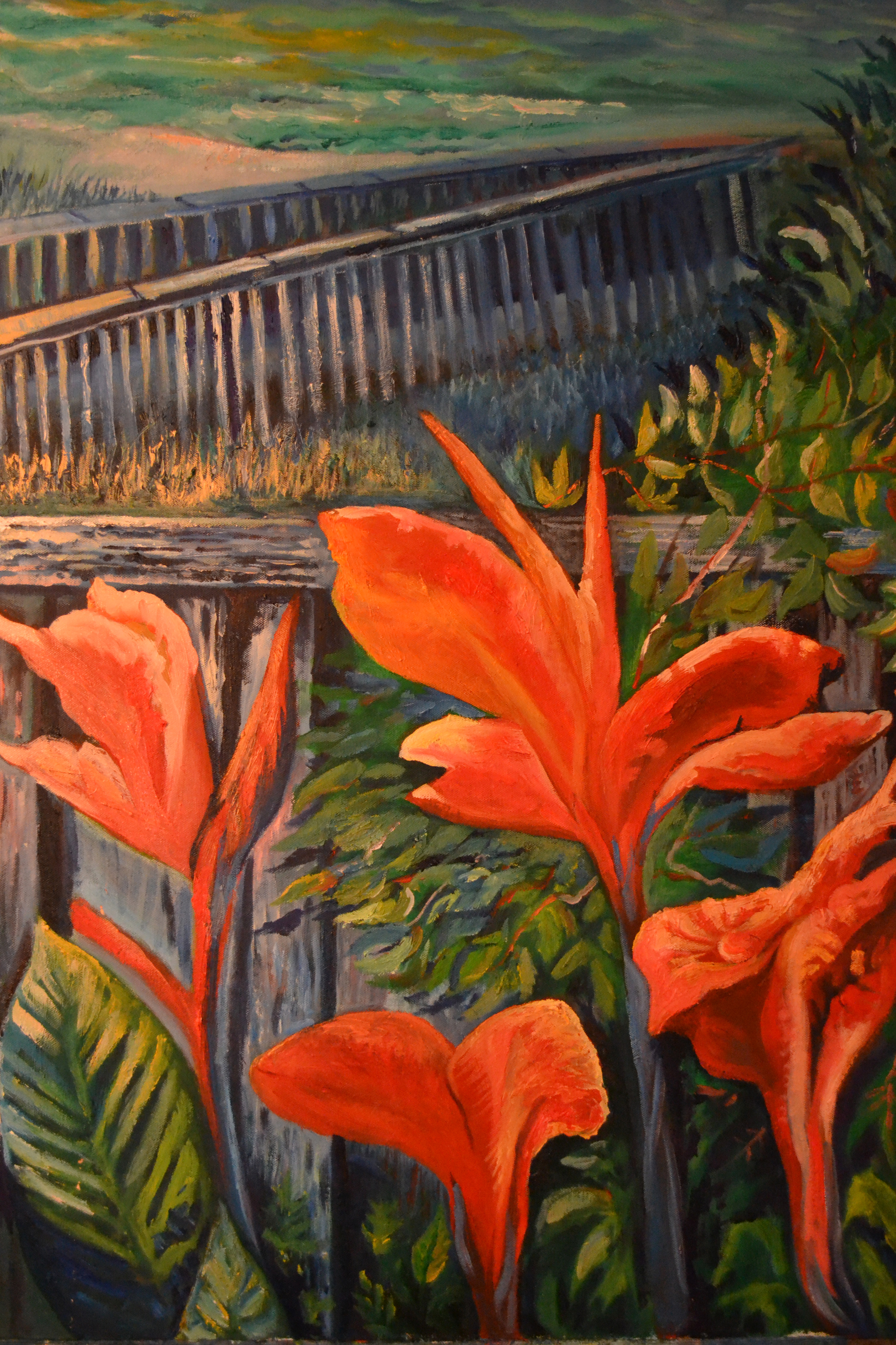 Artbygordon Original Oils On Canvas And Pastels On Paper