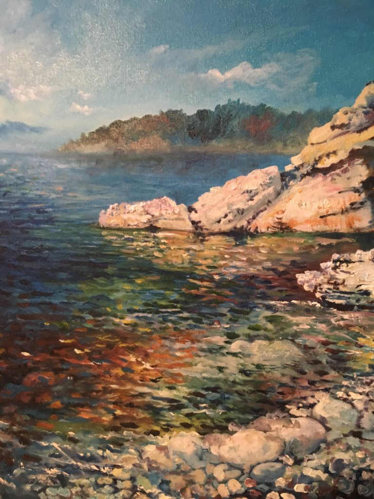 Lake Texoma Original Oil on Canvas